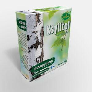 Ksylitol 0,25 Kg Fiński Cukier Brzozowy Danisco Oryginalny Xylitol z Brzozy Finlandia Aka