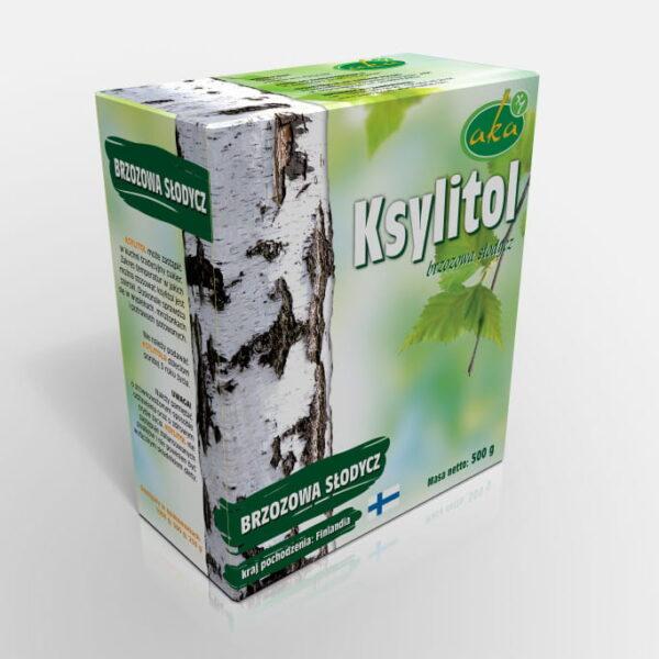 Ksylitol 0,5 Kg Fiński Cukier Brzozowy Danisco Oryginalny Xylitol z Brzozy Finlandia Aka