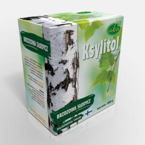 Ksylitol 1 Kg Fiński Cukier Brzozowy Danisco Oryginalny Xylitol z Brzozy Finlandia Aka